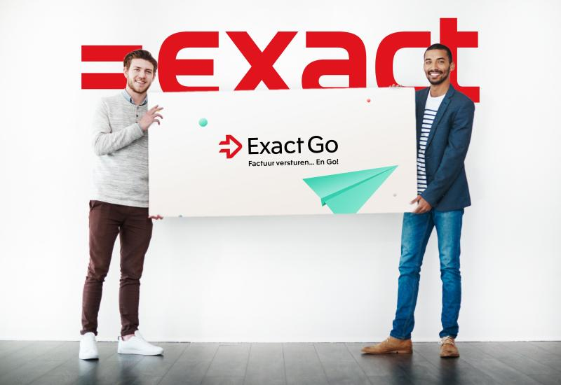 #Exact Go=gratis en dat is super voor onze klanten! Ook dat kan in deze tijd. What's Next #Exact?
